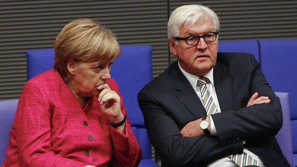 Ангела Меркель і Франк-Вальтер Штайнмаєр