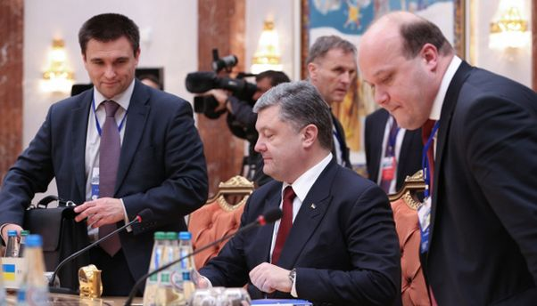 Порошенко в Минске