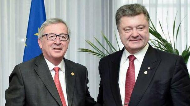 Юнкер і Порошенко