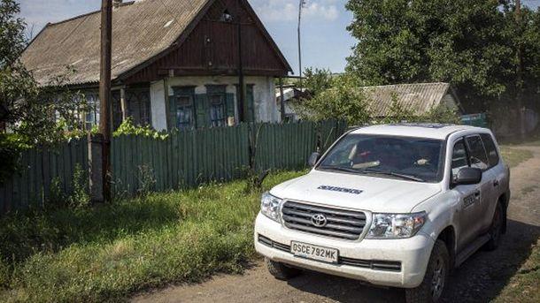Автомобіль місії ОБСЄ