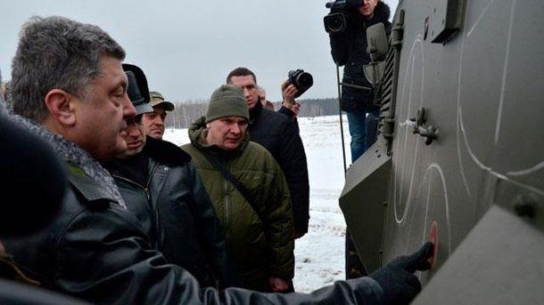 Петр Порошенко в Новых Петровцах