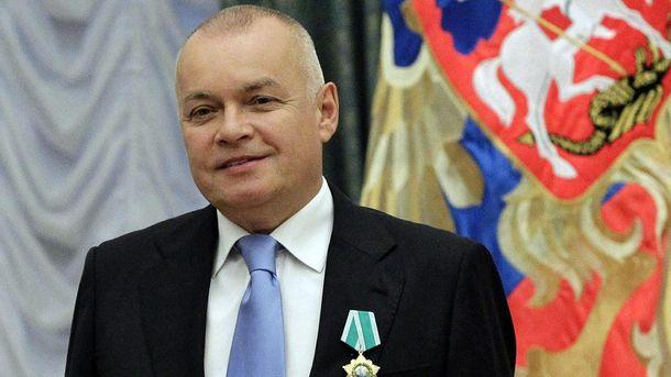 Кремлівський пропагандист Дмитро Кісєльов