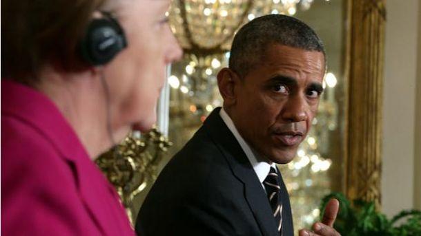 Барак Обама, Ангела Меркель