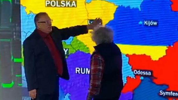 Жиріновський і Венедиктов ділили Україну