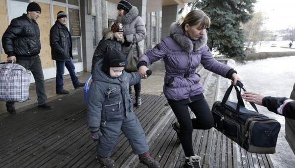 Эвакуация из Дебальцево