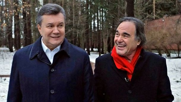Виктор Янукович и Оливер Стоун
