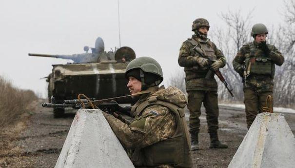 Військові біля Широкине