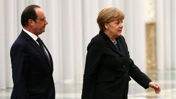 Ангела Меркель, Франсуа Олланд