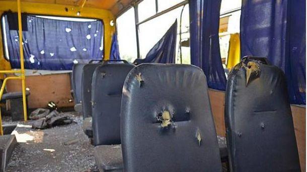 Боевики безжалостно расстреляли автобус под Волновахой