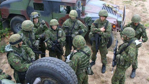 Литовские военные