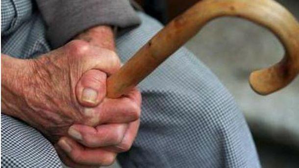 Разъяренные крымчане подрались из-за пенсии