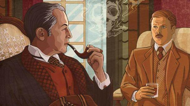 Шерлок Холмс. Иллюстрация