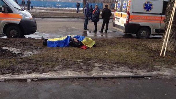 Погибший в Харькове