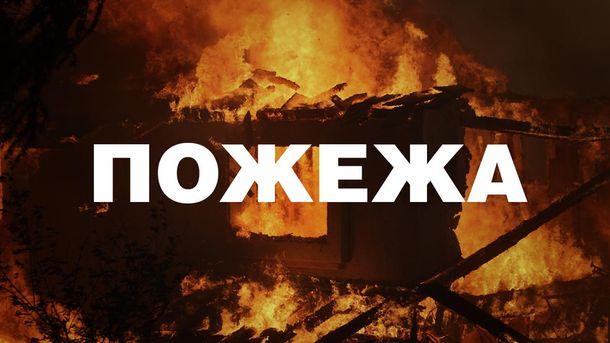 В центре Киева вспыхнул пожар. Погиб человек