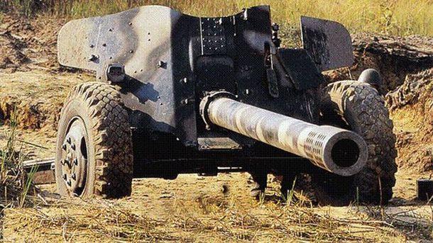 100мм противотанковая пушка