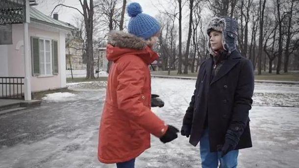 Юные актеры видеоролика