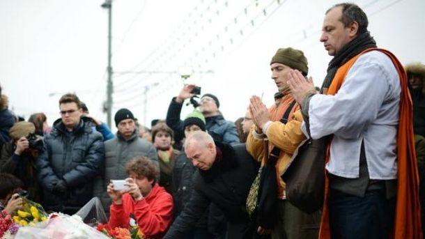 У Москві вшановують пам'ять Нємцова