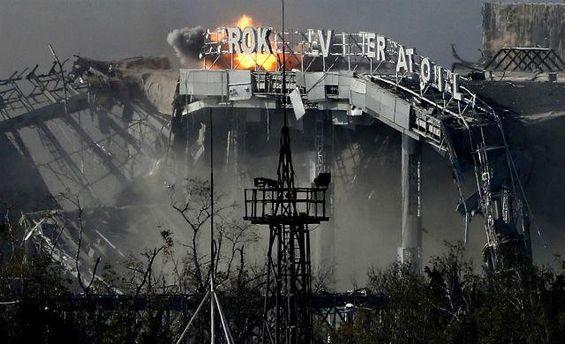 Разрушение донецкого аэропорта: история в фото