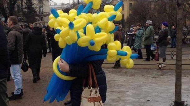 Украинская символика в Петрбурге