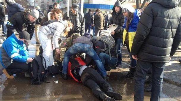 На місці вибуху в Харкові
