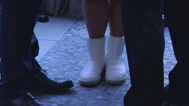 Ноги Валерии Гонтаревой