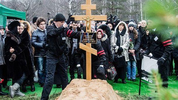 Похорон Немцова