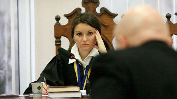 Судья Оксана Царевич