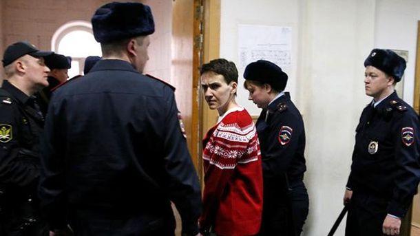 Савченко у суді