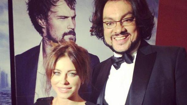 Ани Лорак и Филипп Киркоров на премьере второй части фильма