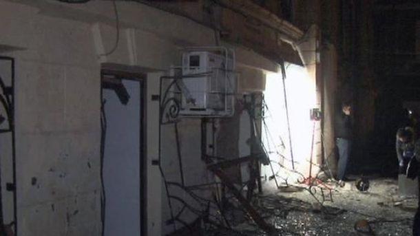 Ночной взрыв в Одессе милиция квалифицирует как теракт