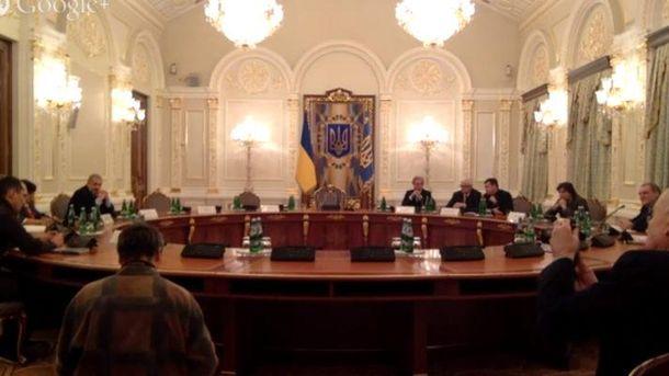 Заседание Антикоррупционной комиссии