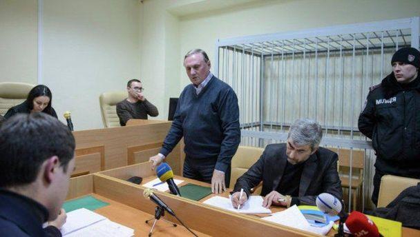 Олександр Єфремов у суді