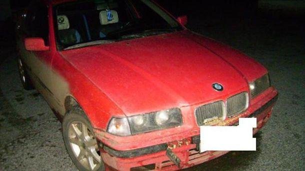 Автомобіль, на якому рухався порушник