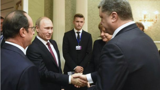 Петр Порошенко, Владимир Путин