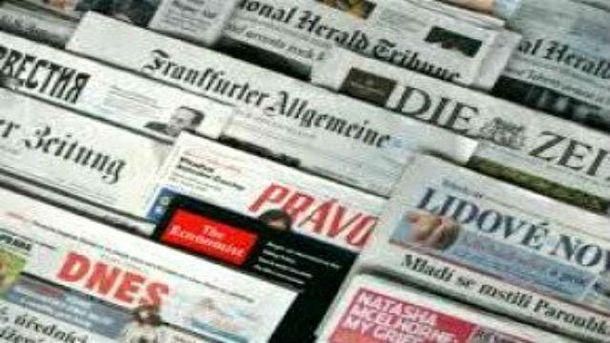 Заграничные СМИ