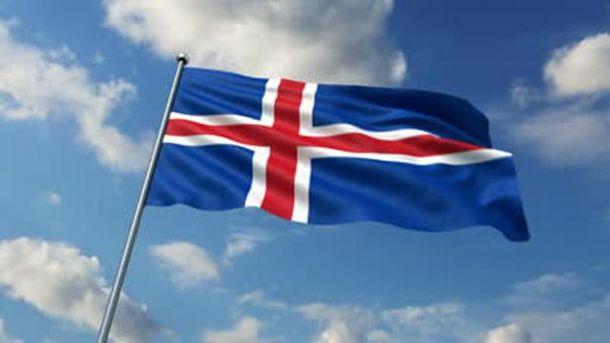 Прапор Ісландії