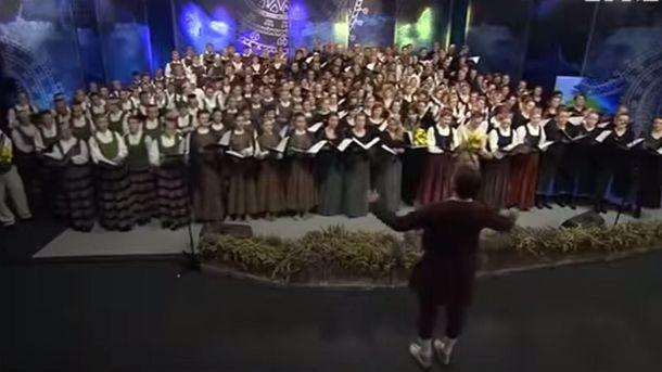 Латвийский хор