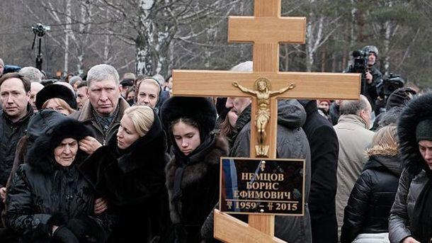 Могила Бориса Немцова