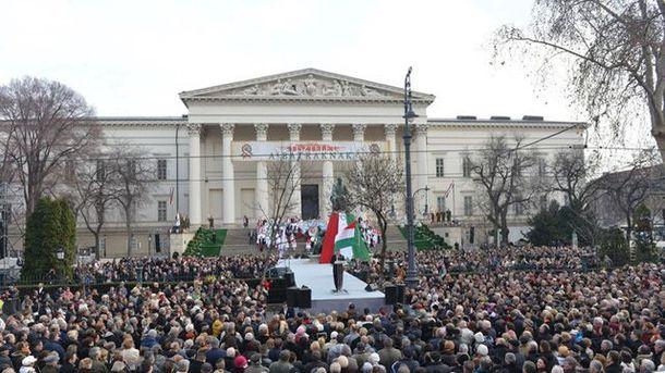 Выступление Виктора Орбана