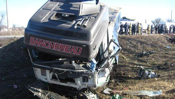 Аварія на Полтавщині