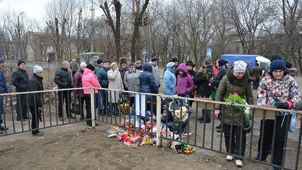 Место трагедии, Константиновка