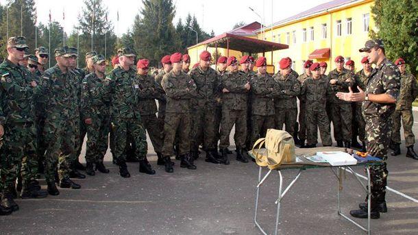 Іноземні військові на Яворівському полігоні