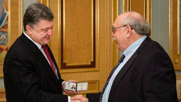 Петр Порошенко и Александр Пасхавер