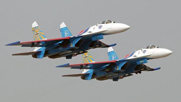 Російські винищувачі