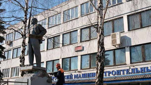В Беларуси демонтировали памятник Ленину