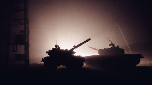 Російська військова техніка в зоні АТО