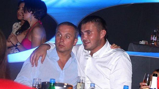 Виктор Янукович-младший и Нестор Шуфрич