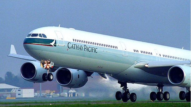 Літак Cathay Pacific Airways