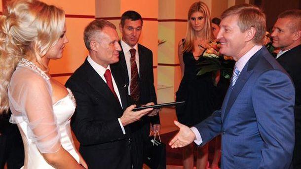 Григорий Суркис и Ринат Ахметов