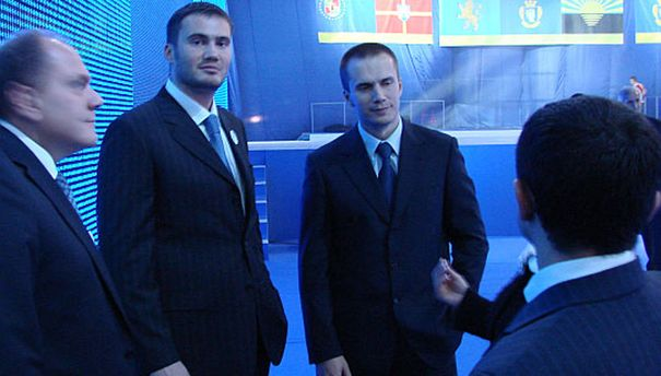 Сыновья Виктора Януковича Виктор и Александр